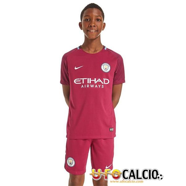 Seconda Maglia Manchester City Bambino