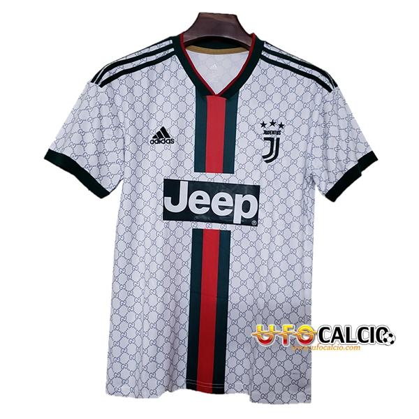 6aafb8733 Maglia Calcio Juventus Versione trapelata Bianco 2019 2020