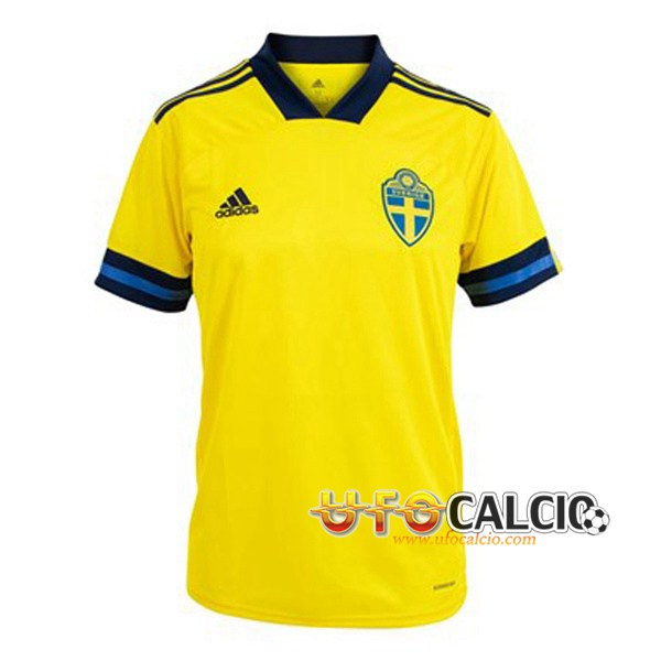 Maglia da calcio Svezia 2021 Svezia Soccer Maglietta
