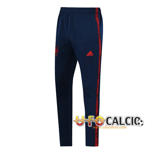 Pantaloni da training Arsenal Blu Scuro/Rosso 2019 2020