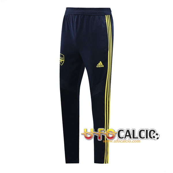 Pantaloni da training Arsenal Blu Scuro/Giallo 2019 2020