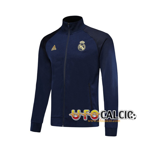 Giacca Calcio Real Madrid Blu Scuro 2019 2020