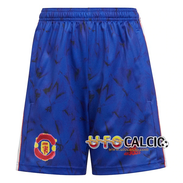 Pantaloncini Calcio Manchester United Race Humaine x Pharrell 2021