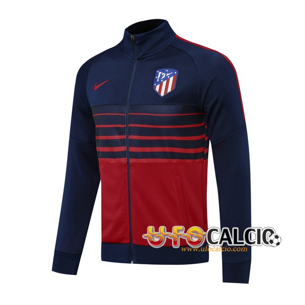 Giacca Calcio Atletico Madrid Blu Royal 2020 2021