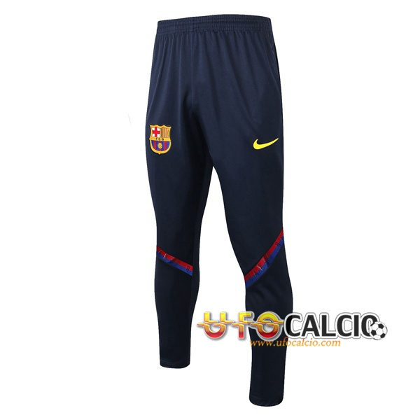 Pantaloni da training FC Barcellona Blu Royal 2020 2021