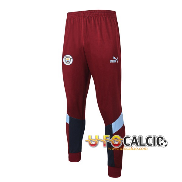 Pantaloni da training Manchester City Rosso 2020 2021