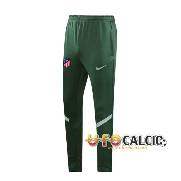 Pantaloni da training Atletico Madrid Verde 2020 2021