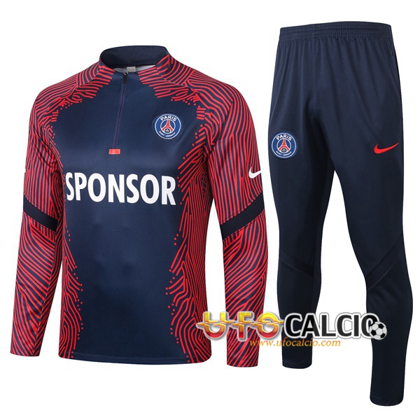 Tuta Calcio Pairis PSG Blu Royal 2020 2021