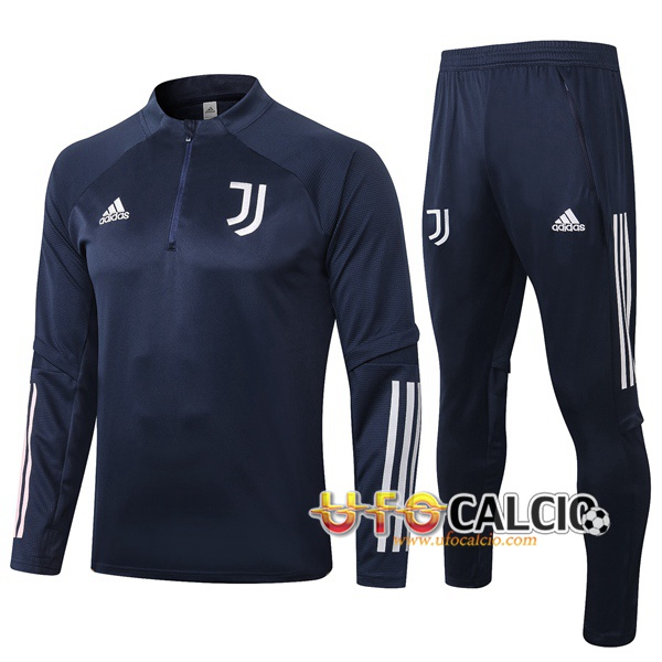 Tuta Calcio Juventus Blu Royal 2020 2021